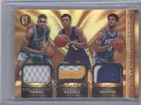 D'Angelo Russell, Jahlil Okafor, Karl-Anthony Towns /25