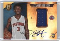 Rookie Jersey Autographs - Stanley Johnson /199