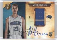 Rookie Jersey Autographs - Mario Hezonja /199