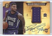 Rookie Jersey Autographs - Willie Cauley-Stein /199