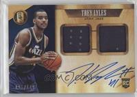 Rookie Jersey Autographs Double - Trey Lyles /149