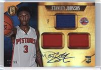 Rookie Jersey Autographs Triple - Stanley Johnson /99