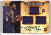 Rookie Jersey Autographs Triple - Willie Cauley-Stein /99