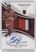 Rookie Patch Autographs - Bobby Portis /25