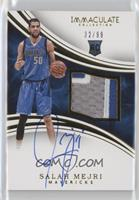 Rookie Patch Autographs - Salah Mejri /99