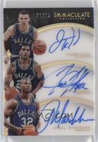 Jamal Mashburn, Jason Kidd, Jim Jackson /25