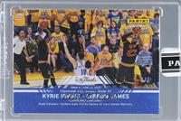 Kyrie Irving, LeBron James /5 [ENCASED]
