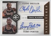 Clyde Drexler, Terry Porter /49