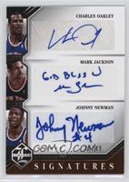 Charles Oakley, Johnny Newman, Mark Jackson /49