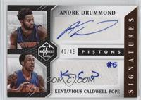 Kentavious Caldwell-Pope, Andre Drummond /49