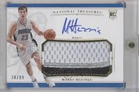 Rookie Patch Autographs - Mario Hezonja /99
