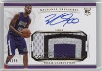 Rookie Patch Autographs - Willie Cauley-Stein /99