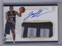 Rookie Patch Autographs - Jarell Martin /10