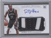 Rookie Patch Autographs - Rondae Hollis-Jefferson /25