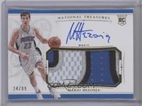Rookie Patch Autographs - Mario Hezonja /99 [Near Mint‑Mint]