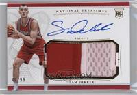 Rookie Patch Autographs - Sam Dekker /99