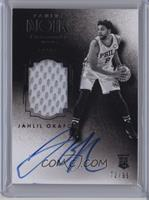 Auto Patch Black and White Rookies - Jahlil Okafor /99