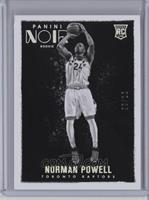 Platinum Black and White Rookies - Norman Powell /10