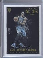 Color Rookies - Karl-Anthony Towns #63/99