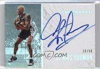 Unparalleled - Dennis Rodman /50