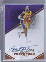 Autographs - Kobe Bryant /40