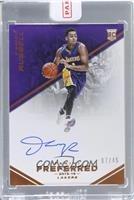 Autographs - D'Angelo Russell /45 [ENCASED]