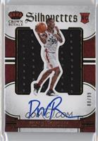 Rookie Silhouettes - Delon Wright /99