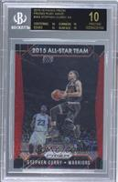 All-Star Team - Stephen Curry /350 [BGS 10 BLACK]