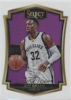 Premier Level Die-Cut - Jeff Green /99