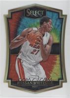 Premier Level Die-Cut - Hassan Whiteside /25