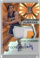 Rookie Jerseys Autographs - Marcelo Huertas /25
