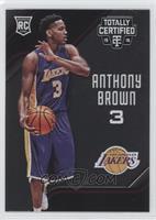 Rookies - Anthony Brown