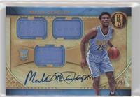 Rookie Jersey Autographs Triple - Malik Beasley /99