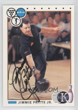 1990 Kingpins PBA Autographs [Autographed] #85 - Jimmie Pritts Jr.