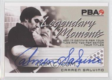 2008 Rittenhouse PBA Legendary Moments Autographs #N/A - Carmen Salvino
