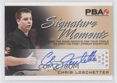 2008 Rittenhouse PBA Signature Moments #CHLO - Chris Loschetter