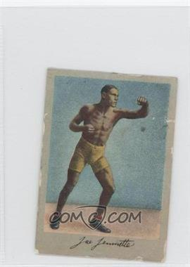 1910-11 Subrug/Khedival Prize Fight Series Tobacco T225 Oxfords/Turkish Whiffs Back #JOJE - Joe Jeannette