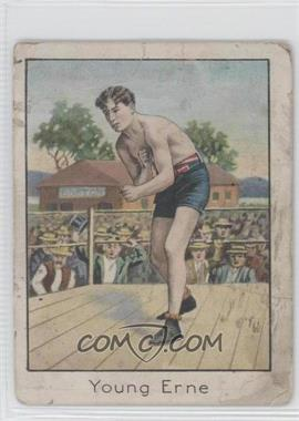 1910 ATC Champion Athlete and Prize Fighter Series Tobacco T220 Tolstoi Back #YOER - Young Erne (Hugh F. Clavin) [GoodtoVG‑EX]