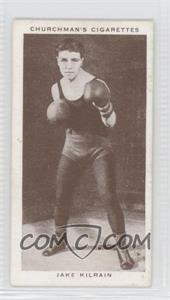 1938 Churchman's Boxing Personalities - Tobacco [Base] #22 - Jake Kilrain