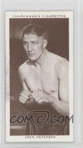 1938 Churchman's Boxing Personalities - Tobacco [Base] #32 - Jack Petersen