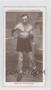 1938 Churchman's Boxing Personalities - Tobacco [Base] #33 - Eddie Phillips