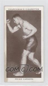 1938 Churchman's Boxing Personalities - Tobacco [Base] #7 - Primo Carnera [GoodtoVG‑EX]