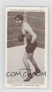 1938 Churchman's Boxing Personalities - Tobacco [Base] #8 - Georges Carpentier [GoodtoVG‑EX]
