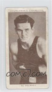 1938 Churchman's Boxing Personalities Tobacco [Base] #11 - Al Delaney [Good to VG‑EX]