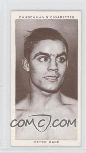 1938 Churchman's Boxing Personalities Tobacco [Base] #21 - [Missing]