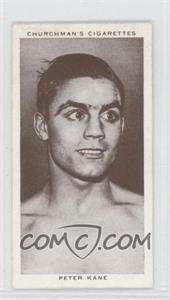 1938 Churchman's Boxing Personalities Tobacco [Base] #21 - Peter Kane