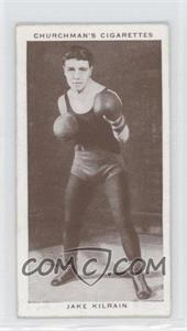 1938 Churchman's Boxing Personalities Tobacco [Base] #22 - Jake Kilrain