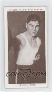 1938 Churchman's Boxing Personalities Tobacco [Base] #23 - Johnny King
