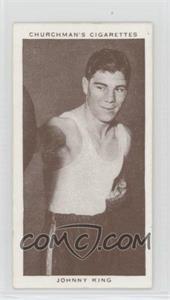 1938 Churchman's Boxing Personalities Tobacco [Base] #23 - Johnny King