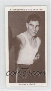 1938 Churchman's Boxing Personalities Tobacco [Base] #23 - [Missing]